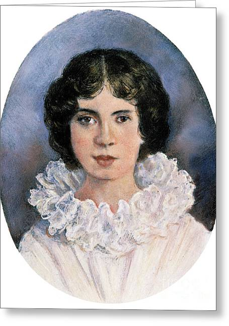 Photogravure Greeting Cards - Emily Elizabeth Dickinson Greeting Card by Granger