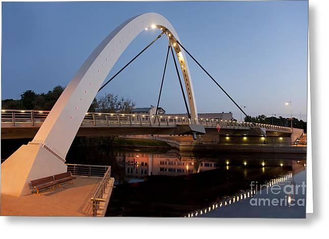 Gi Greeting Cards - Estonian Bridge and Archway Greeting Card by Jaak Nilson