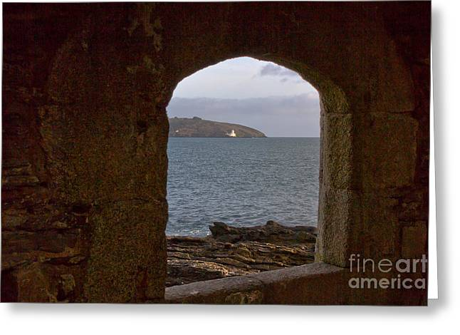 Kernow Greeting Cards - Falmouth Harbour  Greeting Card by Brian Roscorla