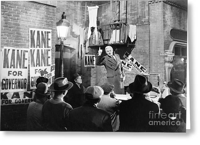Citizens Greeting Cards - Film: Citizen Kane, 1941 Greeting Card by Granger