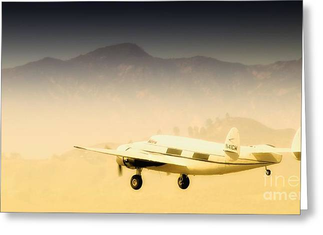 Mccrea Greeting Cards - Flight to Macao Greeting Card by Gus McCrea