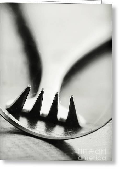 Forks Greeting Cards - Fork Greeting Card by HD Connelly