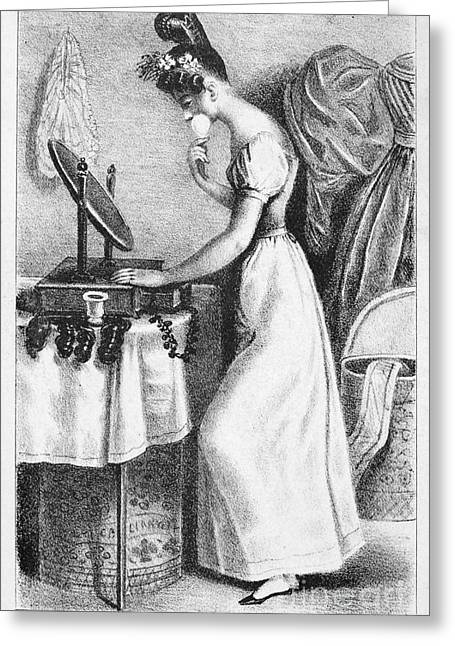 Dressing Room Photographs Greeting Cards - Frances Trollope (1780-1863) Greeting Card by Granger