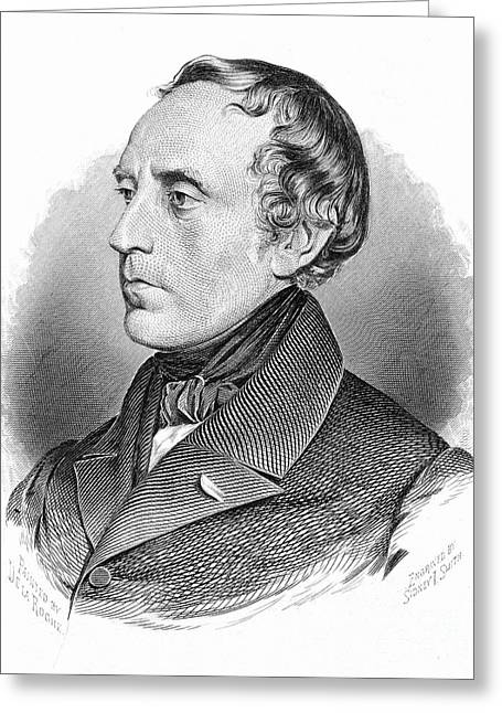 Francois Greeting Cards - Francois Guizot (1787-1874) Greeting Card by Granger