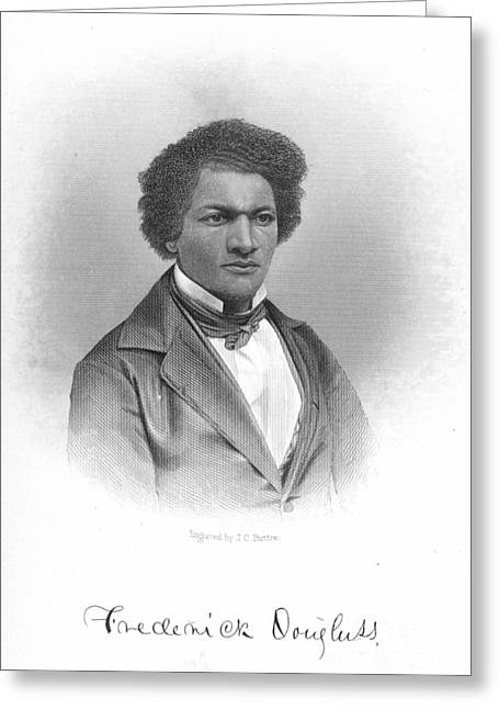 Abolition Greeting Cards - Frederick Douglass Greeting Card by Granger