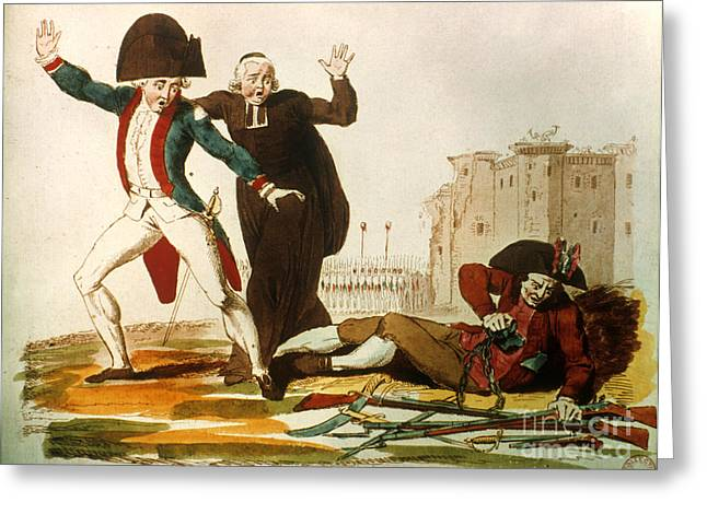FRENCH REVOLUTION, 1792 Greeting Card by Granger