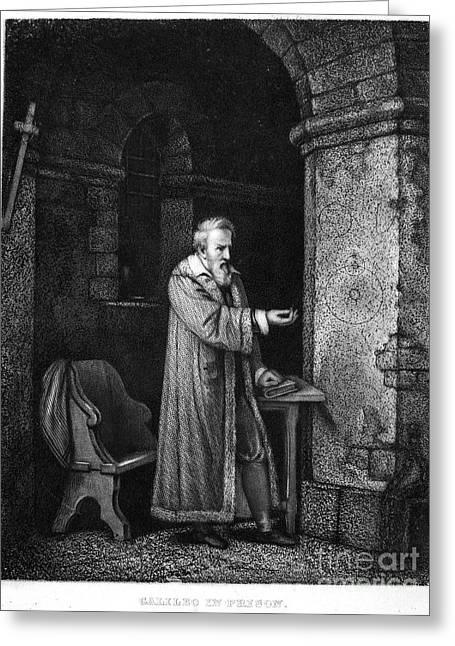 Discrimination Greeting Cards - Galileo Galilei (1564-1642) Greeting Card by Granger