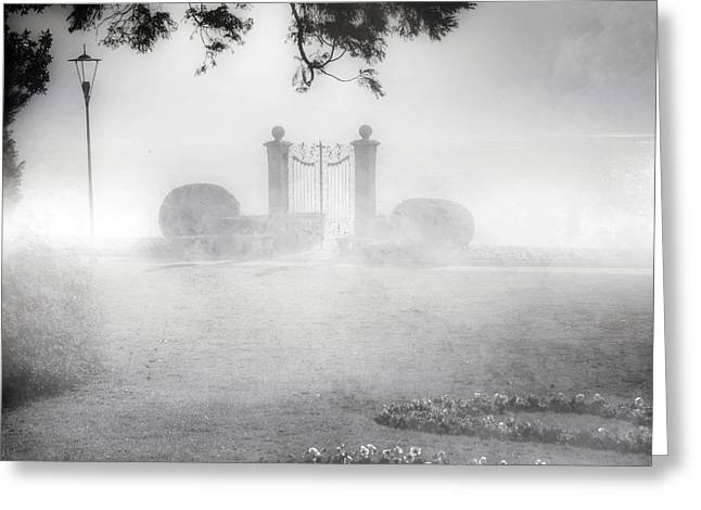 Gates Greeting Cards - Gateway To The Lake Greeting Card by Joana Kruse