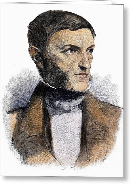 Sideburns Greeting Cards - George Bancroft (1800-1891) Greeting Card by Granger