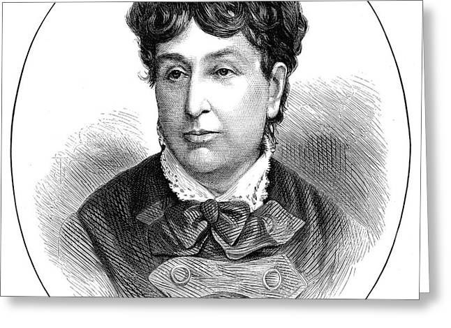 GEORGE SAND (1804-1876) Greeting Card by Granger