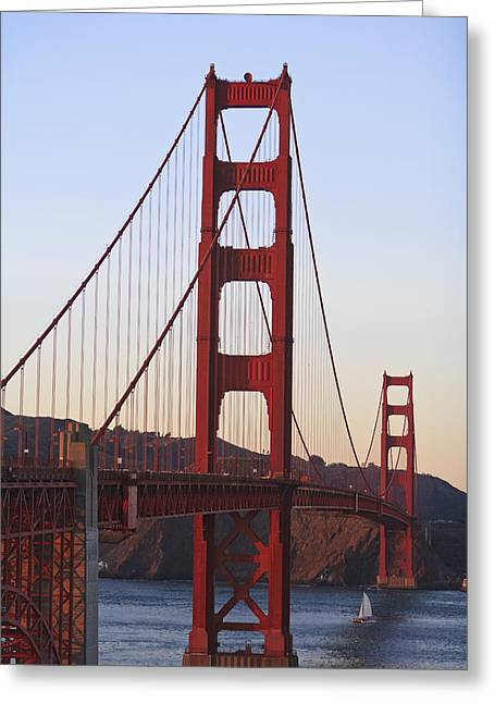 Golden Gate Bridge San Francisco Greeting Card by Stuart Westmorland