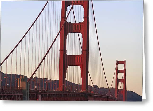 Golden Gate Bridge San Francisco Greeting Card by Stuart Westmorland