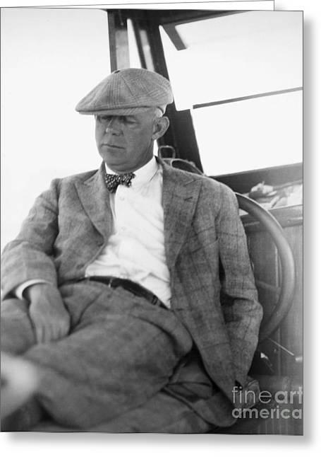 Grantland Rice (1880-1954) Greeting Card by Granger