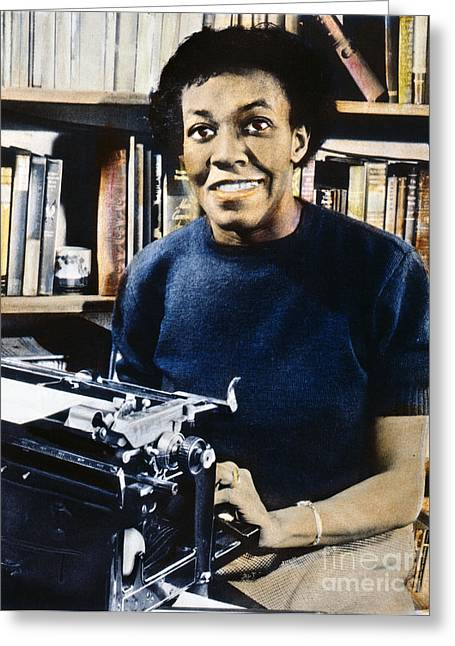 Pulitzer Prize Greeting Cards - Gwendolyn Brooks Greeting Card by Granger