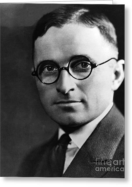Folksy Greeting Cards - Harry S. Truman, 33rd American President Greeting Card by Photo Researchers