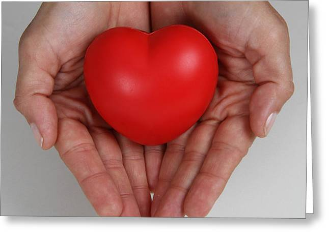 Heart Disease Prevention Greeting Card by Photo Researchers, Inc.