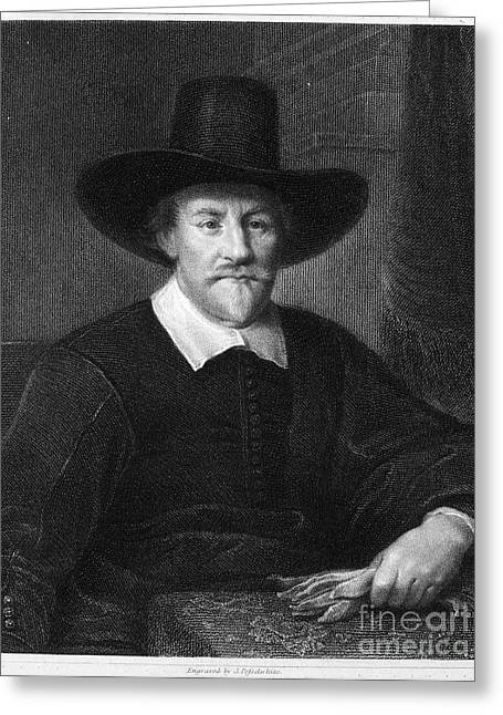Attorney Greeting Cards - Hugo Grotius (1583-1645) Greeting Card by Granger