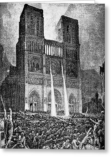 Hunchback Of Notre Dame Greeting Card by Granger