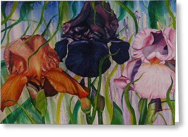 Shahid Muqaddim Greeting Cards - I Thought Tulips Greeting Card by Shahid Muqaddim