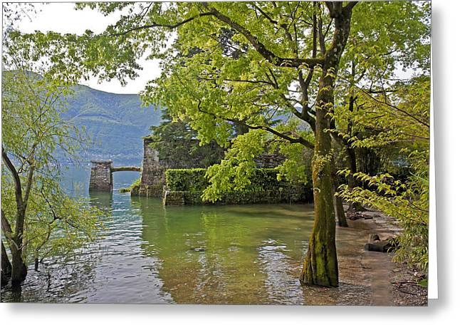 Locarno Greeting Cards - Isole di Brissago Greeting Card by Joana Kruse