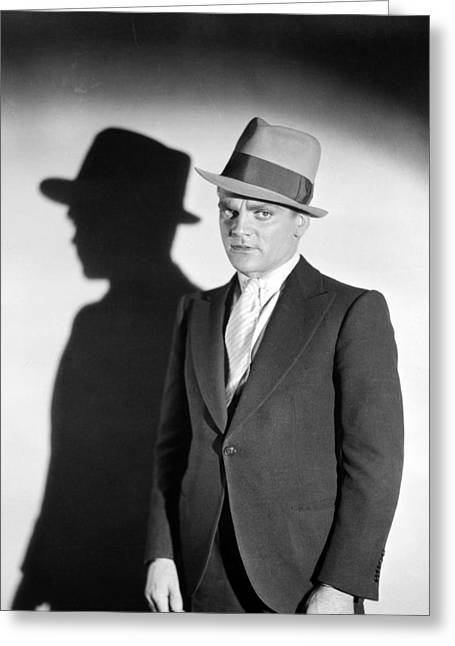 James Cagney Photographs Greeting Cards - James Cagney (1899-1986) Greeting Card by Granger