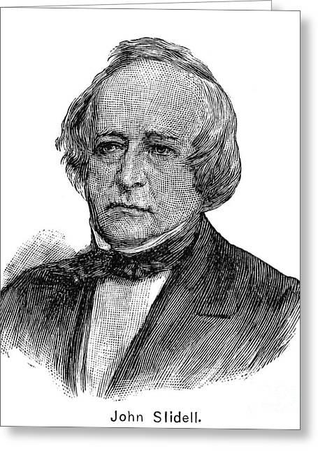 Slidell Greeting Cards - John Slidell (1793-1871) Greeting Card by Granger