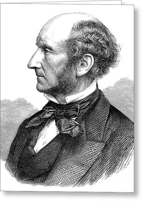 John Stuart Mill Greeting Card by Granger