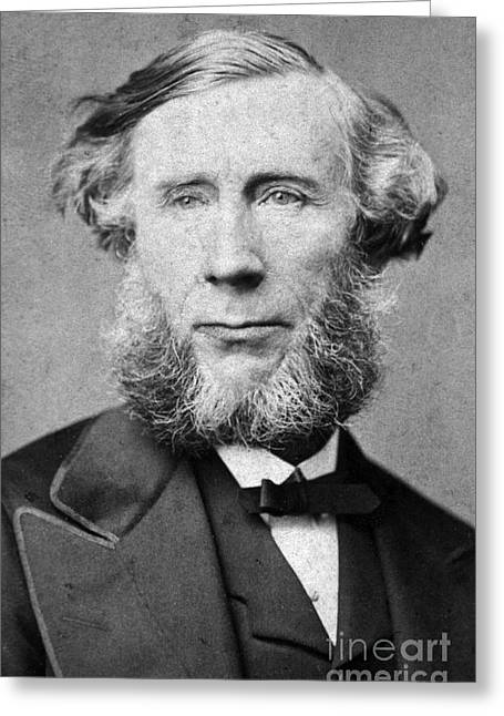 Action Portrait From Photo Greeting Cards - John Tyndall, Irish Physicist Greeting Card by Science Source