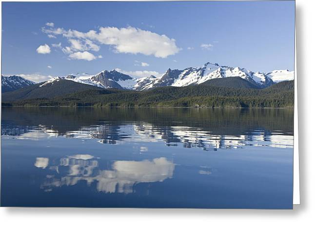 Altitude Greeting Cards - Juneau Greeting Card by John Hyde - Printscapes