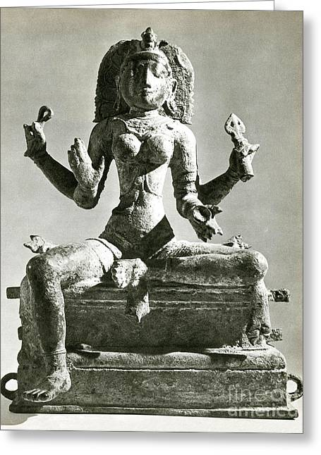 Hindu Goddess Photographs Greeting Cards - Kali Greeting Card by Photo Researchers
