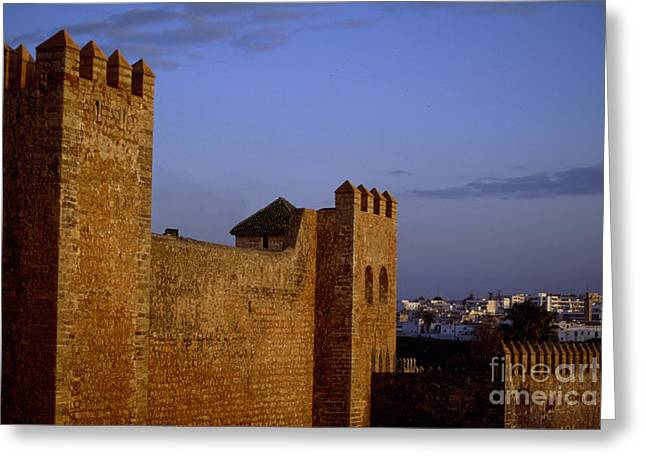 Rabat Photographs Greeting Cards - Rabat Kasbah Des Oudaias Morocco Greeting Card by Antonio Martinho