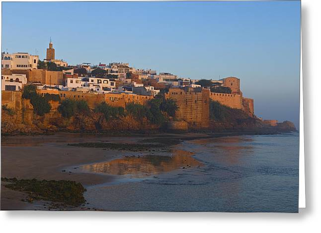 Rabat Photographs Greeting Cards - Kasbah Des Oudaias, Rabat Greeting Card by Axiom Photographic