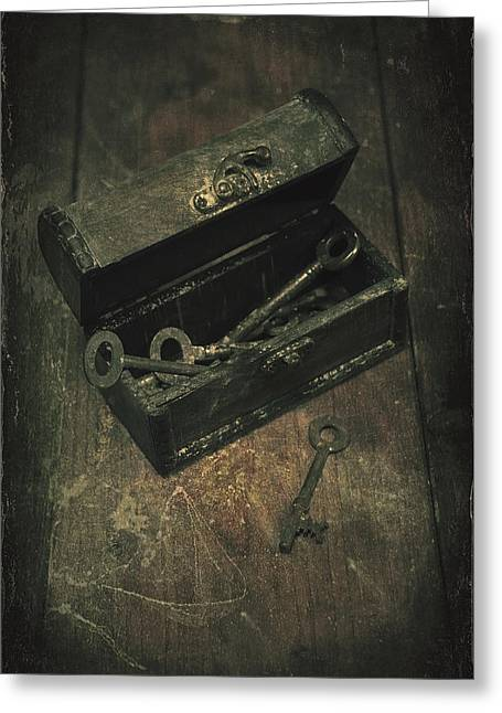Keys Greeting Card by Joana Kruse