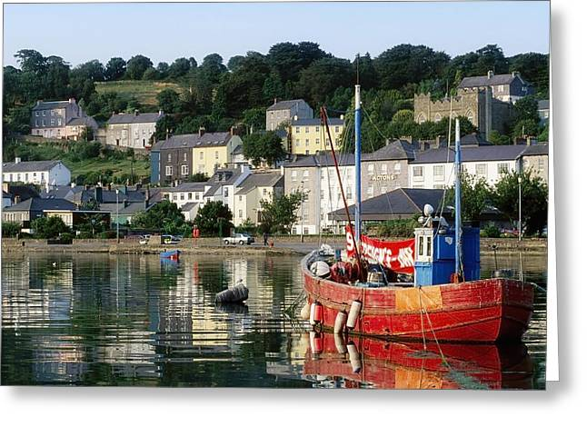 The Tourist Trade Greeting Cards - Kinsale Harbour, Co Cork, Ireland Greeting Card by The Irish Image Collection