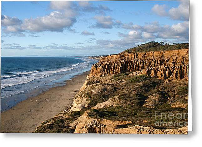Elite Image Photography By Chad Mcdermott Greeting Cards - La Jolla California Coast at Torrey Pines State Park Greeting Card by ELITE IMAGE photography By Chad McDermott