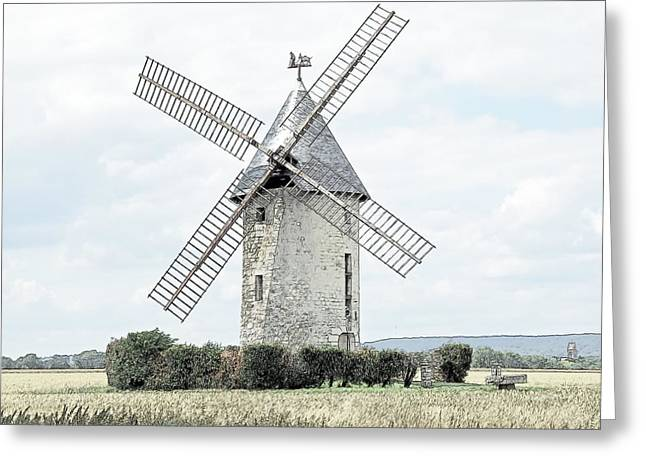 Largny Mill Largny Sur Automne France Greeting Card by Joseph Hendrix
