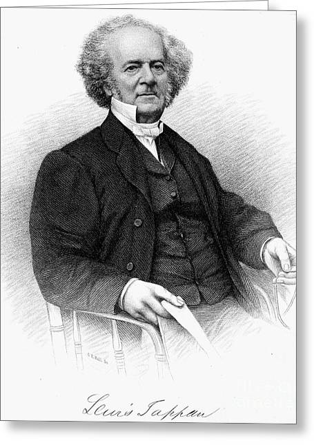 Abolition Greeting Cards - Lewis Tappan (1788-1873) Greeting Card by Granger