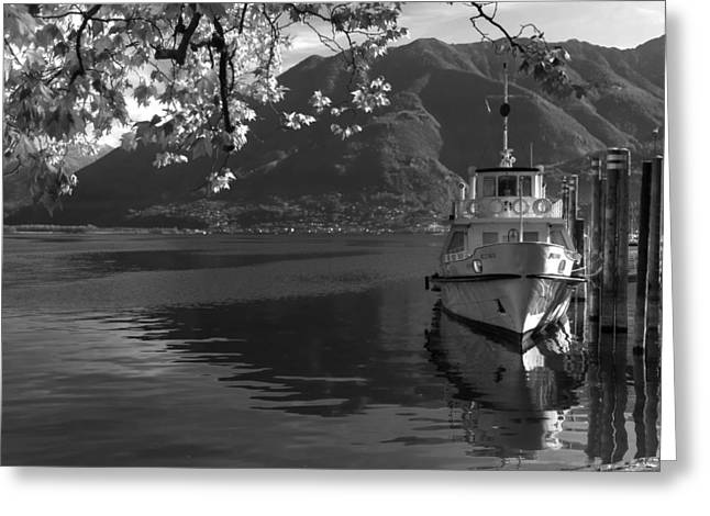 Lake Maggiore Greeting Cards - Locarno Greeting Card by Joana Kruse