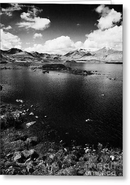 Lochan Greeting Cards - lochan na h-Achlaise Lochaber highland scotland uk Greeting Card by Joe Fox