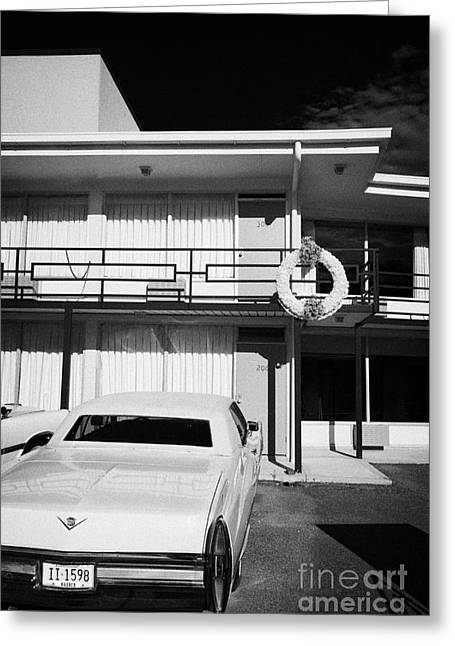 Lorraine Hotel Site Of The Murder Of Martin Luther King Now The National Civil Rights Museum Memphis Greeting Card by Joe Fox