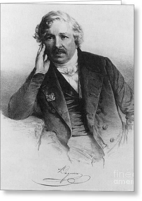 Names Of Artists Greeting Cards - Louis Daguerre, French Inventor Greeting Card by Science Source