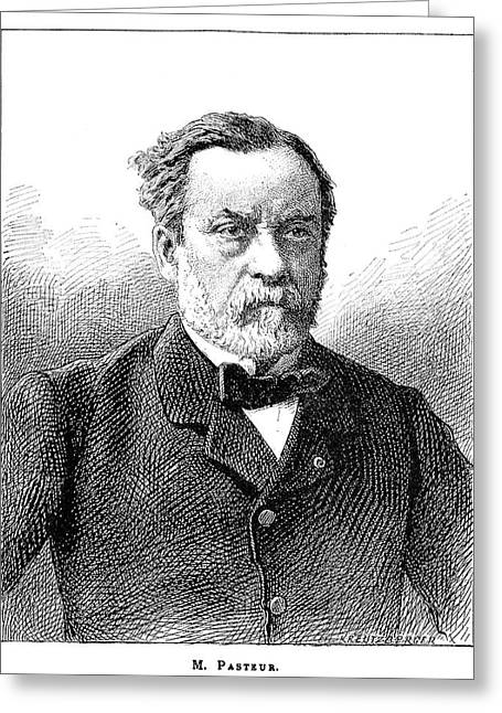 Louis Pasteur, French Microbiologist Greeting Card by