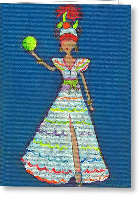 I Love Lucy Greeting Cards - Lucy Greeting Card by Ricky Sencion
