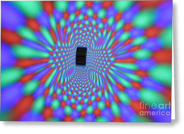 Distortion Greeting Cards - Magnetic Fields Greeting Card by Ted Kinsman