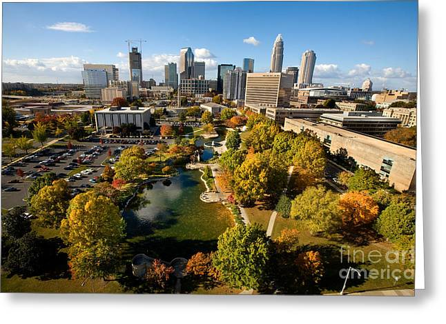 Mecklenburg County Greeting Cards - Marshall Park Greeting Card by Patrick Schneider