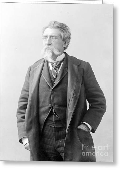 Self-portrait Photographs Greeting Cards - Mathew Brady, Father Of Photojournalism Greeting Card by Photo Researchers