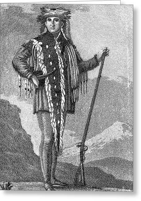 Saint-julien Greeting Cards - Meriwether Lewis Greeting Card by Granger