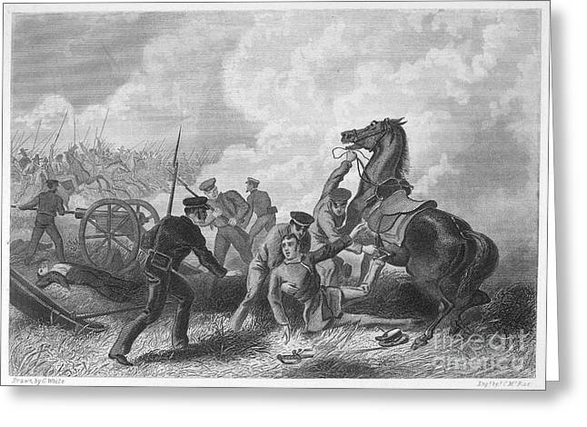 U.s Army Greeting Cards - Mexican War: Palo Alto Greeting Card by Granger