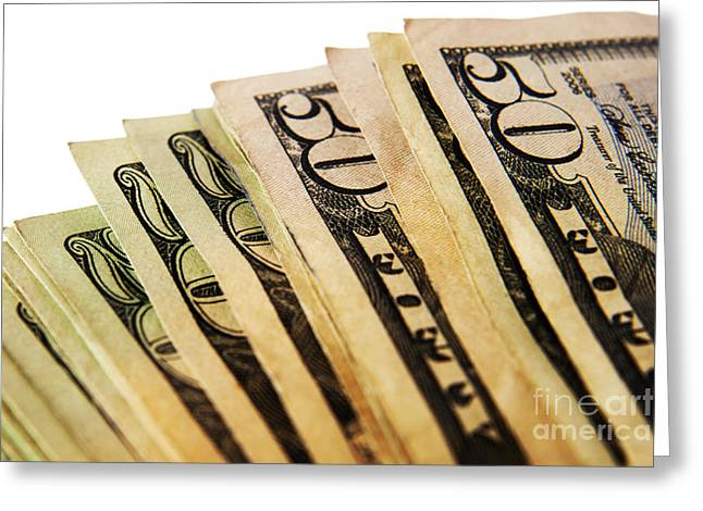 Money Greeting Card by Blink Images