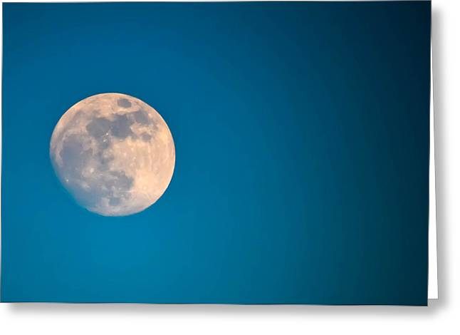 Selenic Greeting Cards - Moonscape Greeting Card by Brian Stevens